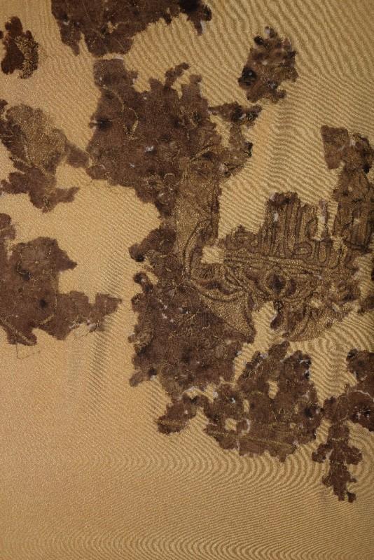 image 5 - Украинский археолог раскрывает тайну древних шелковой ткани