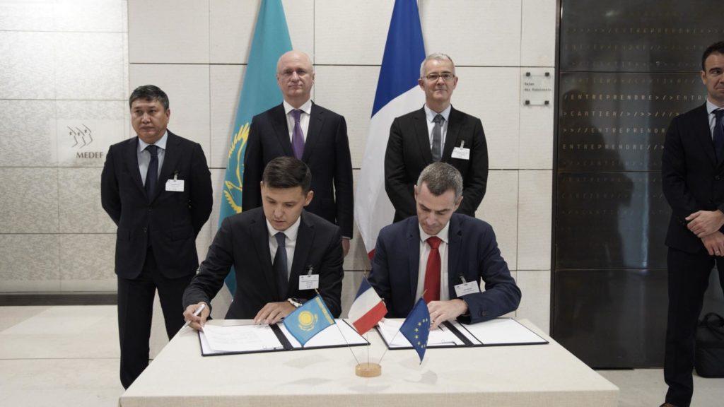 5d9d6137e0742 1024x576 - Казахстанская экономика привлекает $900 млн инвестиций в ходе бизнес-форума в Берлине, Париже