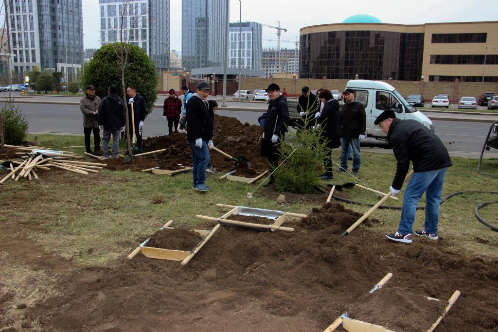 IMG 1646 1024x683 - Один миллион деревьев будет посажено в Казахстане в рамках общенациональной кампании
