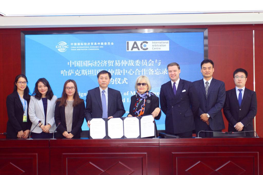 IMG 5879 1024x683 - МВК подписывает несколько договоров с азиатскими партнерами международного арбитража и медиации