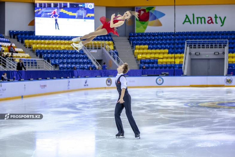 Kazakh Figure Skaters prosport.kz  - Казахстанские фигуристы выиграть бронзовую медаль, путевку на чемпионат мира-2020
