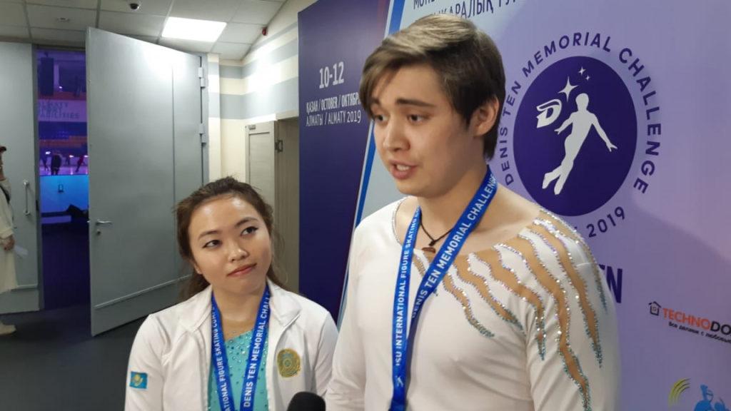 Kazakh Figure Skaters zakon.kz  1024x576 - Казахстанские фигуристы выиграть бронзовую медаль, путевку на чемпионат мира-2020