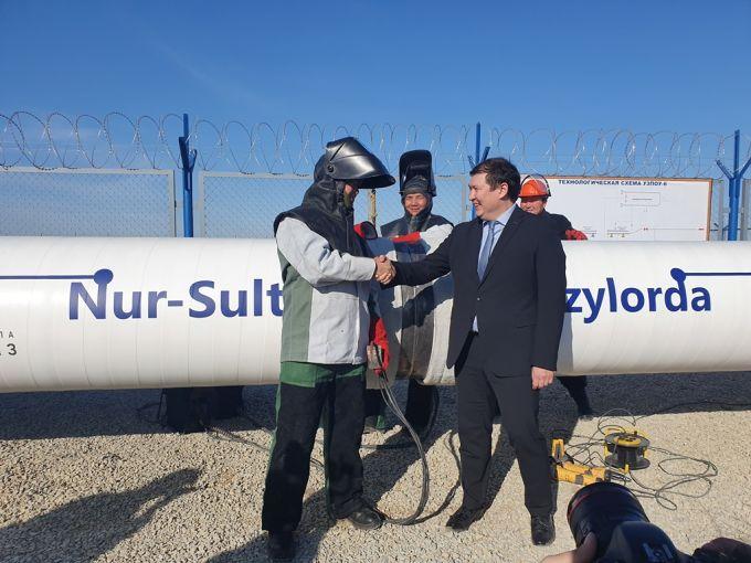 zakon.kz gaz1 - Saryarqa конвейера, завершив первый этап предоставления казахстанских городов с газом