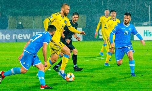500 5dd3f89969f0d - Казахская футбольная команда побеждает Сан-Марино в отборочном матче Евро-2020, проигрывает в Шотландию