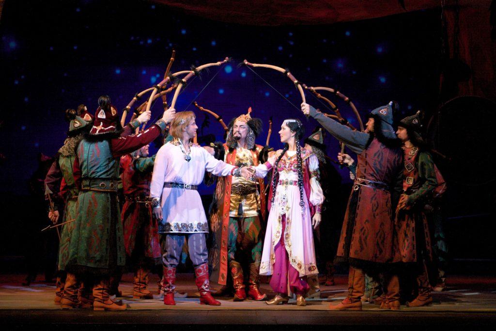A scene from Prince Igor opera Photo credit Krasnoyarsk State Opera and Ballet Theatre  1024x683 - Красноярский театр Хворостовский выполнять впервые в Казахстане