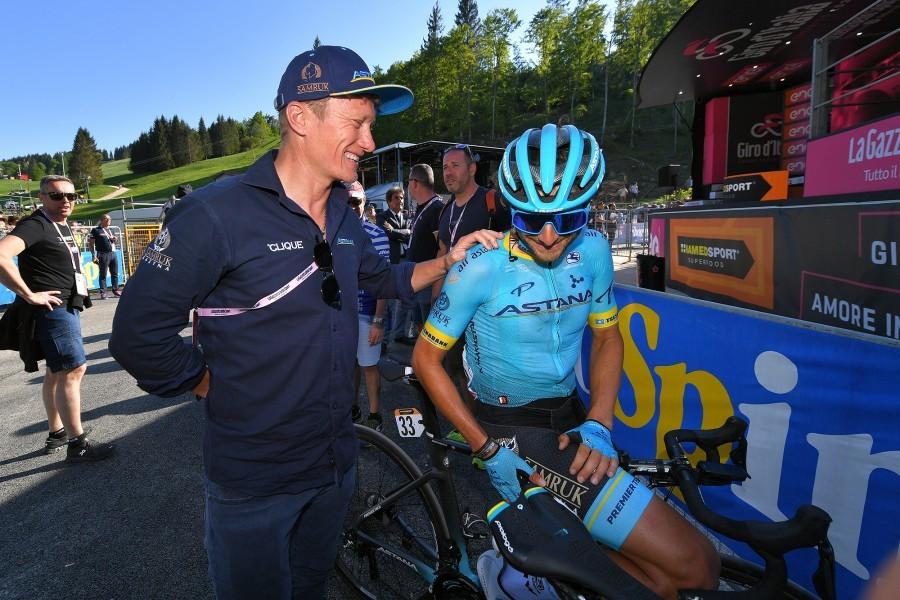 Alexandr Vinokurov L Photo credit Getty Images Sport - Астаны готовится к следующему сезону