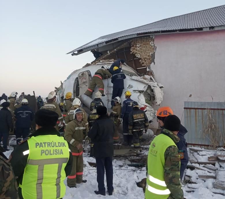 35 Oper inf   15 1 - Двенадцать погибших после авиакатастрофы самолета Бека близ Алматы, сообщает Токаева декабря. 28 Национальный день траура