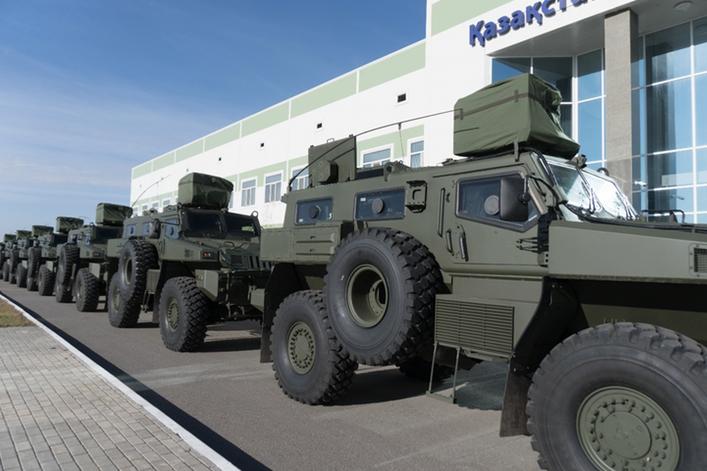 Arlan copy - Казахстан Парамаунт Инжиниринг поставляет новую партию бронемашин для Министерства обороны