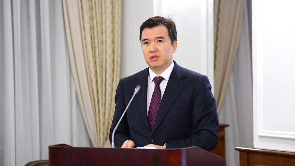 Ruslan Dalenov. Photo credit primeminister.kz  1024x576 - Перерабатывающей промышленности, услуг, строительства диск Казахского экономического роста в 2019