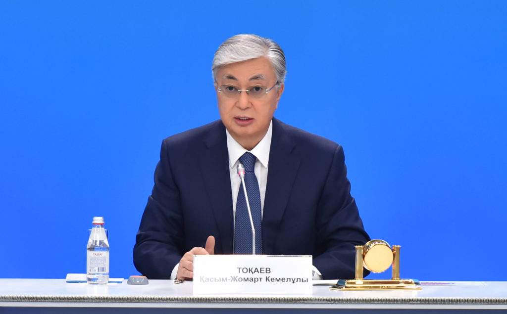 Tokayev. Photo credit akorda.kz  1024x635 - Президент Казахстана объявляет крупный пакет политических реформ