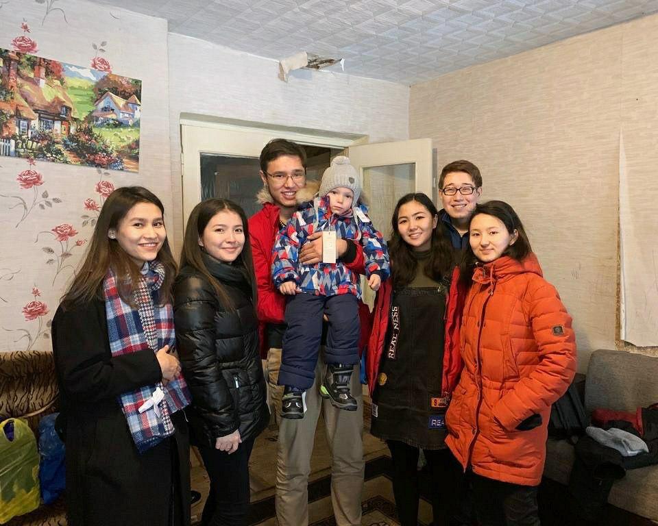 photo 2019 11 22 15.12.22 - Теплая зимняя Студенческая инициатива обеспечивает нуждающихся детей, с зимняя одежда для шестого