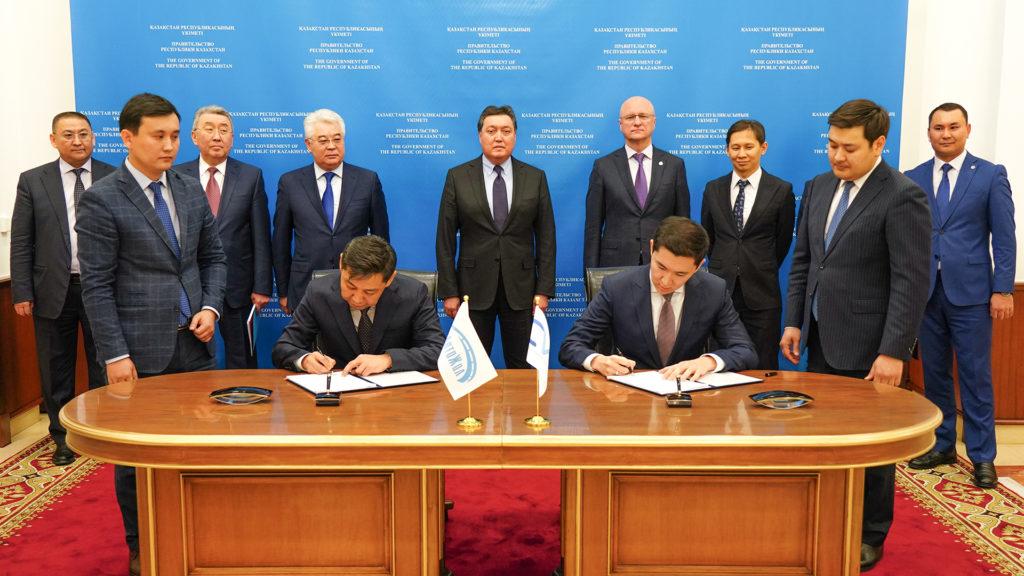 2412 podpisanie got 1024x576 - Тайваньская компания планирует инвестировать 65 млн. долларов в казахстанских интеллектуальных транспортных систем