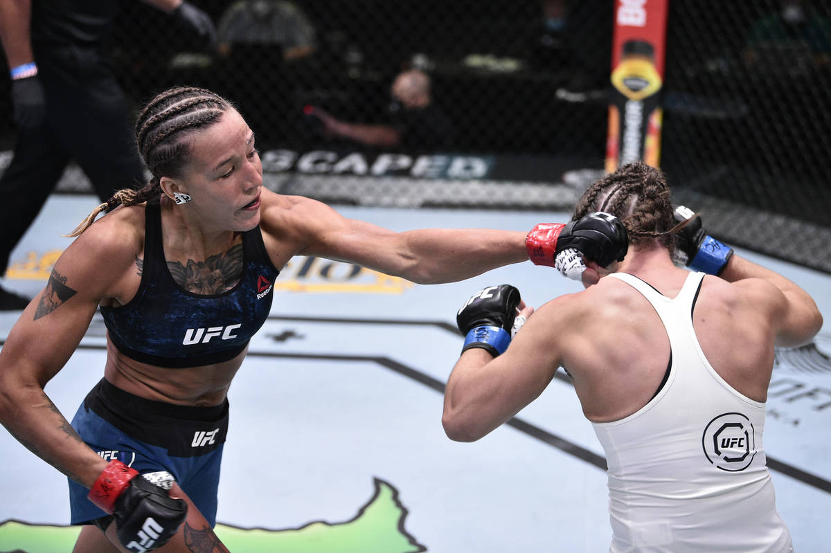 First Kazakh Female Mma Fighter Mariya Agapova Makes Impressive Debut Performance At Ufc Showmatch The Astana Times