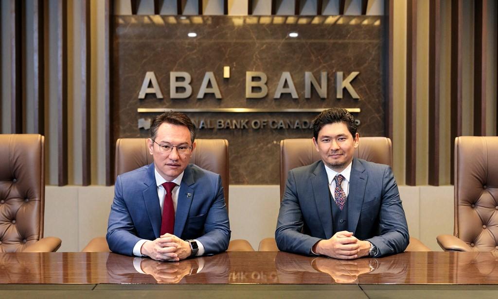 Askhat Azhizhanov and Madi Akmambet. Photo credit inbusiness.kz  - Казахстанских банкиров в долю Камбоджа история успеха