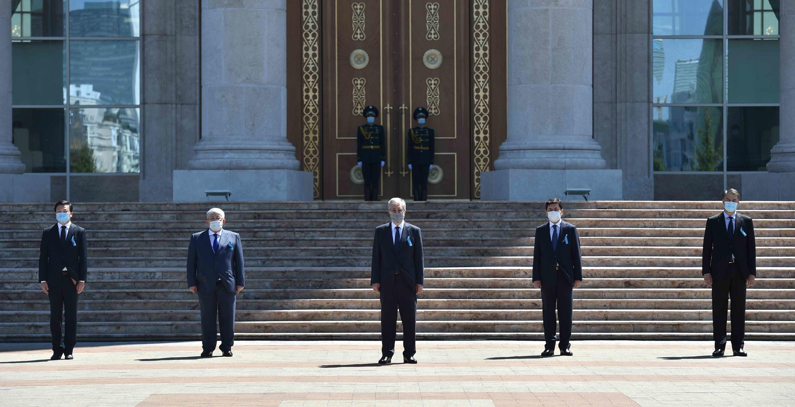 Photo credit akorda.kz1  scaled - Казахстан отмечает 13 июля Национальным днем траура по COVID-19 жертв
