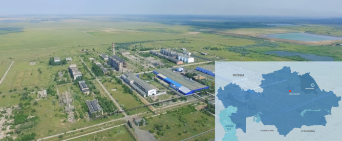 The Pavlodar special economic zone (SEZ). Click on the picture to see the map.