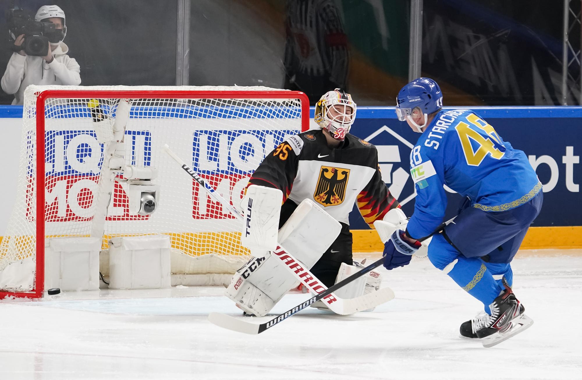 Kazakhstan Stops Germany's Machine at Ice Hockey World Championship - The  Astana Times